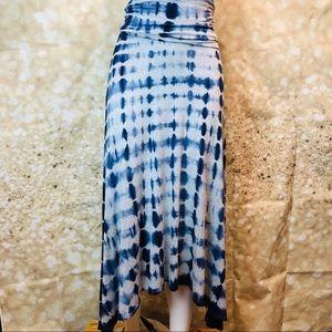 Women Cynthia Rowley tie dye skirt, sz S